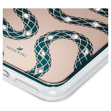 Custodia per smartphone con bordi protettivi Theatrical, iPhone® 11 Pro Max, verde - Swarovski, 5565201