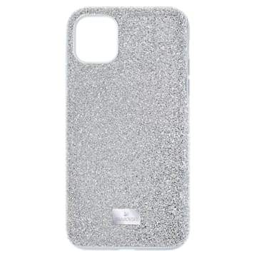 Funda para smartphone High, iPhone® 12/12 Pro, tono plateado - Swarovski, 5565202