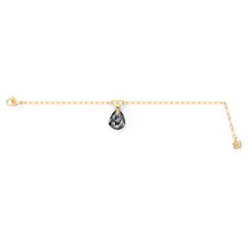 T Bar Armband, grau, vergoldet - Swarovski, 5566149