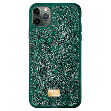 Glam Rock Smartphone 套, iPhone® 12 Pro Max, 綠色 - Swarovski, 5567940