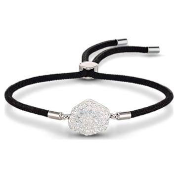 Swarovski Power-collectie armband met het element lucht, Zwart, Roestvrij staal - Swarovski, 5568271