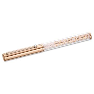 Crystalline Gloss Kugelschreiber, Roséfarben, Roségold-Legierungsschicht - Swarovski, 5568753