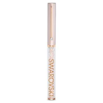 Kuličkové pero Crystalline Gloss, růžové, pozlacené růžovým zlatem - Swarovski, 5568759