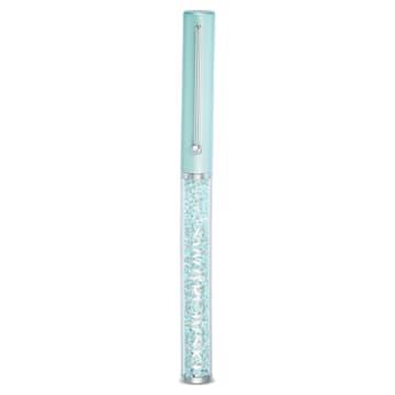 Crystalline Gloss 圓珠筆, 綠色, 鍍鉻 - Swarovski, 5568762