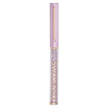 Crystalline Gloss 圓珠筆, 紫色, 鍍玫瑰金色調 - Swarovski, 5568764
