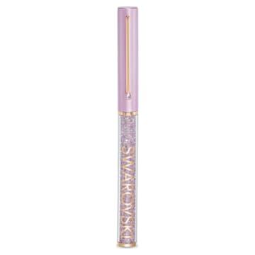 Penna a sfera Crystalline Gloss, Viola, Placcato color oro rosa - Swarovski, 5568764