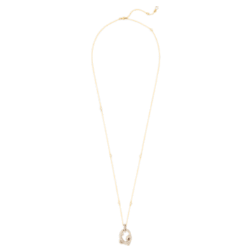Tigris 鏈墜, 水滴, 灰色, 鍍金色色調 - Swarovski, 5569106