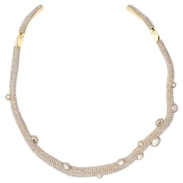 Collana torque Tigris, tono dorato, placcato color oro - Swarovski, 5569140