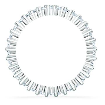 Vittore-V-ring, Wit, Rodium-verguld - Swarovski, 5569171