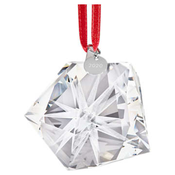 Daniel Libeskind Annual Eternal Star Frosted Hanging Ornament, White - Swarovski, 5569385