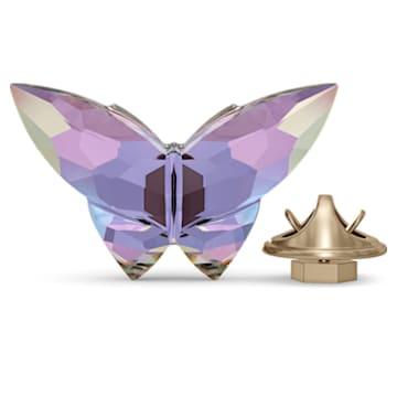 Jungle Beats, магнит «Бабочка», фиолетовый, маленький - Swarovski, 5572153