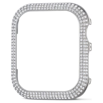 Sparkling Gehäuserahmen passend zur Apple Watch ®, 40 mm, Silberfarben - Swarovski, 5572573