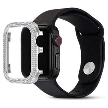 Funda compatible con Apple Watch ® Sparkling, 40 mm, Tono plateado - Swarovski, 5572573