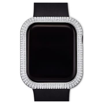 Coque compatible avec Apple Watch ® Sparkling, 40 mm, Ton argenté - Swarovski, 5572573