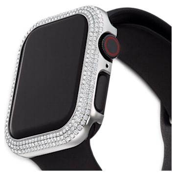 Sparkling Apple Watch ® 용 케이스, 40 mm, 실버 톤 - Swarovski, 5572573