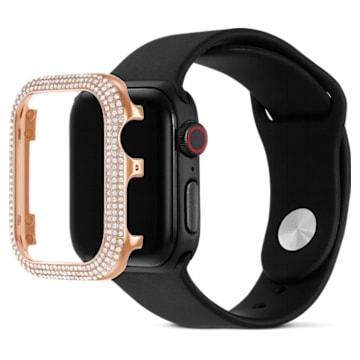 Carcasă compatibilă cu Apple Watch ® Sparkling, 40 mm, Nuanță roz-aurie - Swarovski, 5572574