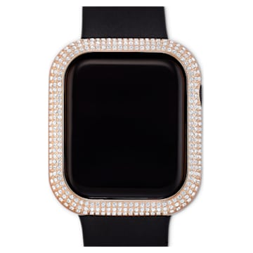 Sparkling Apple Watch ® kompatibilis tok, 40 mm, Rozéarany árnyalat - Swarovski, 5572574