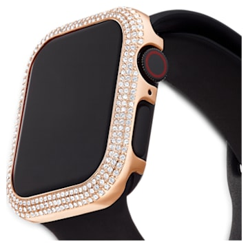 40 mm Sparkling horlogekast compatibel met Apple Watch®, Roségoudkleurig - Swarovski, 5572574