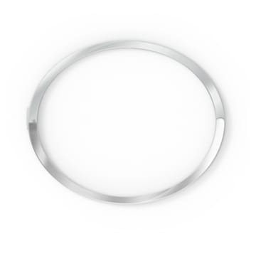 Bracciale rigido Rare, bianco, placcato rodio - Swarovski, 5572678