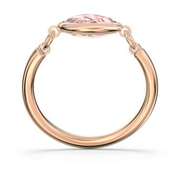 Bague Tahlia, rose, métal doré rose - Swarovski, 5572696