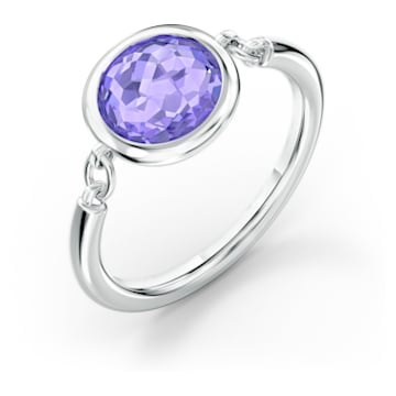 Tahlia Ring, violett, rhodiniert - Swarovski, 5572703