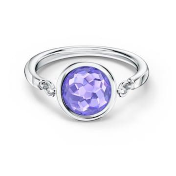 Bague Tahlia, violet, métal rhodié - Swarovski, 5572709