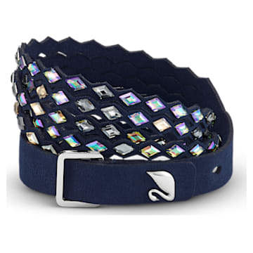 Braccialetto Swarovski Power Collection Navy, blu - Swarovski, 5572735