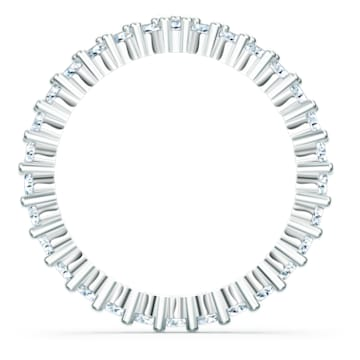 Bague Vittore V, blanc, métal rhodié - Swarovski, 5572815