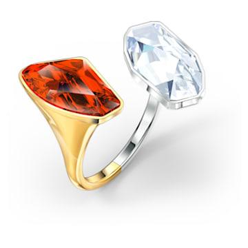 Anel The Elements, vermelho, acabamento em vários metais - Swarovski, 5572882
