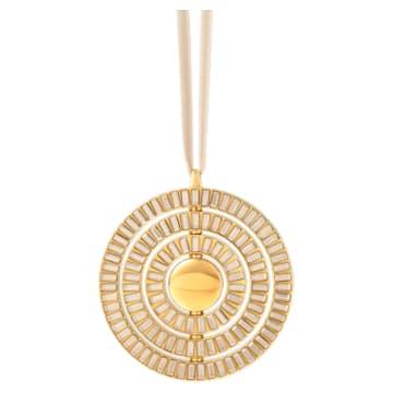 Décoration à suspendre Icons of Design, ton doré - Swarovski, 5572958
