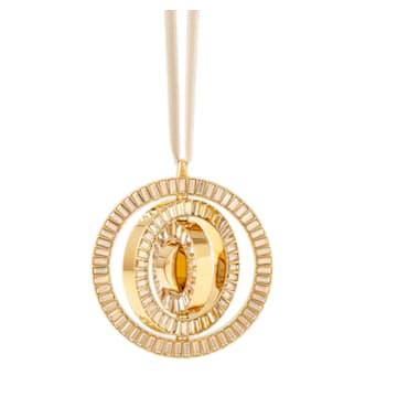 Decoración colgante Icons of Design, tono dorado - Swarovski, 5572958