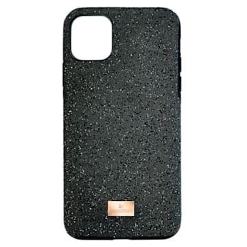 High smartphone case , iPhone® 12 mini, Black - Swarovski, 5574040