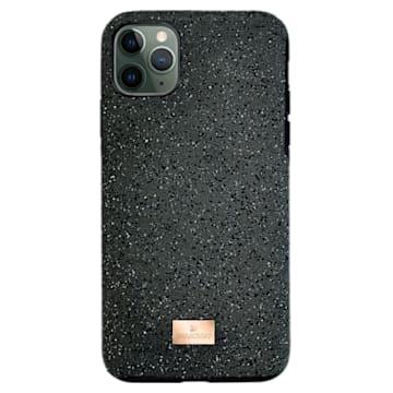 Capa para smartphone High, iPhone® 12 mini, preta - Swarovski, 5574040