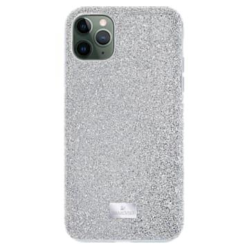 High Smartphone Schutzhülle, iPhone® 12 mini, silberfarben - Swarovski, 5574042
