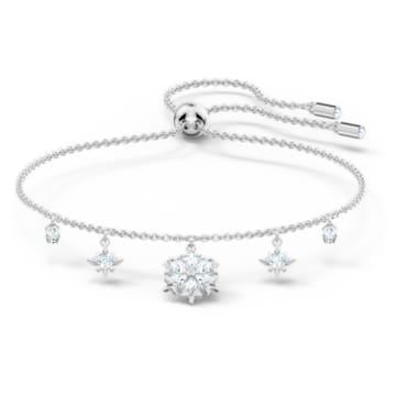 Bracelet Magic, blanc, métal rhodié - Swarovski, 5576695