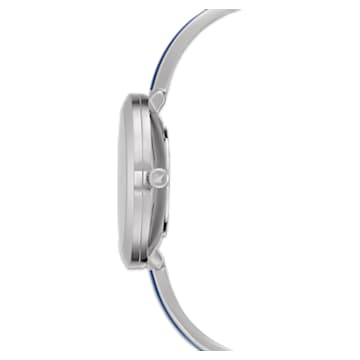 Orologio Crystalline Delight, bracciale di metallo, blu, acciaio inossidabile - Swarovski, 5580533