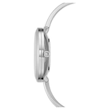 Orologio Crystalline Delight, bracciale di metallo, bianco, acciaio inossidabile - Swarovski, 5580537