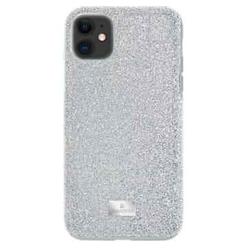 Étui pour smartphone High, iPhone® 11, Ton argenté - Swarovski, 5592030