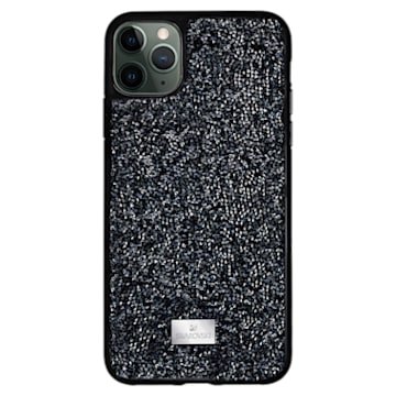 Funda para smartphone Glam Rock, iPhone® 12 mini, negro - Swarovski, 5592043