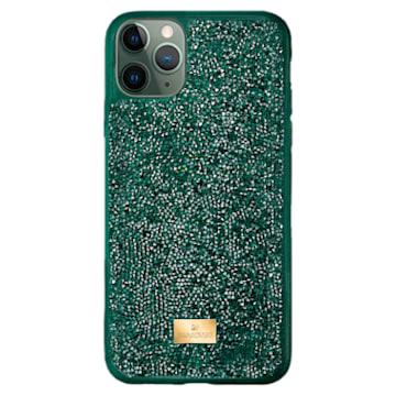 Funda para smartphone Glam Rock, iPhone® 12 mini, verde - Swarovski, 5592045