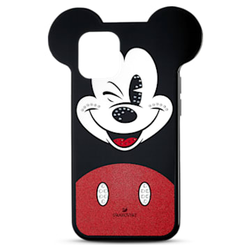 Pouzdro na chytrý telefon Mickey, iPhone® 12 mini, vícebarevný - Swarovski, 5592047
