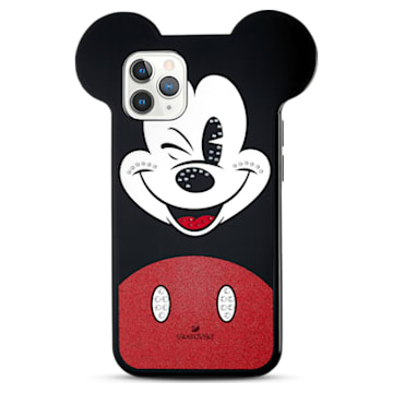 Mickey Smartphone Case, iPhone® 12 mini, Multicoloured - Swarovski, 5592047