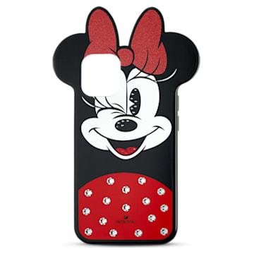 Minnie Smartphone Case, iPhone® 12 mini, Multicoloured - Swarovski, 5592048