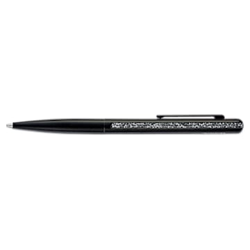 Crystal Shimmer ballpoint pen, Black, Black lacquered - Swarovski, 5595667
