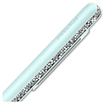 Crystal Shimmer 圓珠筆, 綠色, 鍍鉻 - Swarovski, 5595671