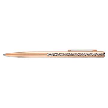 Crystal Shimmer 볼포인트 펜, 로즈골드 톤, 로즈골드 톤 플래팅 - Swarovski, 5595673