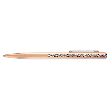 Crystal Shimmer Ballpoint Pen, Rose-gold tone plated - Swarovski, 5595673