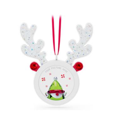 Holiday Cheers Reindeer Hanging Picture Frame - Swarovski, 5596391