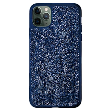 Glam Rock Smartphone Schutzhülle, iPhone® 12/12 Pro, Blau - Swarovski, 5599181
