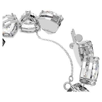 Millenia Armband, Kristalle im Triangle Schliff, Weiss, Rhodiniert - Swarovski, 5599194